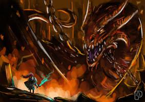 Fire Dragon (+Youtube Video) by SkoglundP