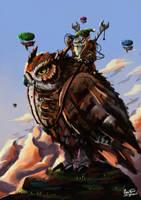 Owl Rider2 by SkoglundP