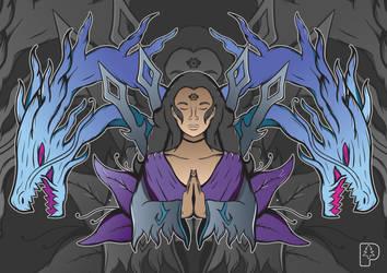 Queen of Shadows by SkoglundP