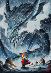 Ice Dragon by SkoglundP