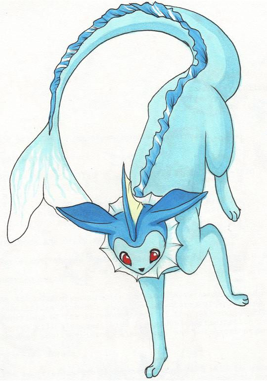 Vaporeon by VaporeonTail