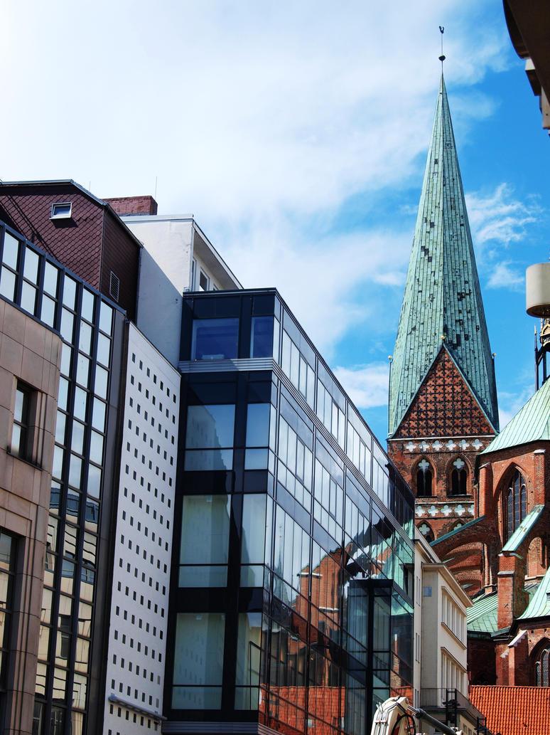 City Juxtaposition by frando