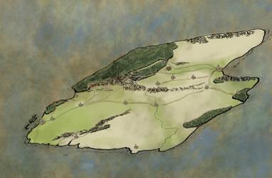 Malaz Island map by Mytago