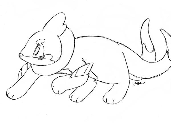 buizel coloring pages | Buizel Coloring Pages Coloring Pages