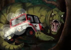 Jurassic Park by alexyoshida