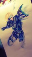 League of Legends: Pulsefire Ezreal by Kytru