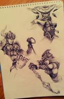 League of Legends: Freljord by Kytru