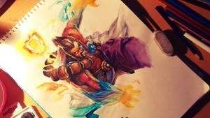 League of Legends: Spirit Guard Udyr by Kytru
