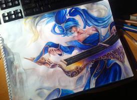 League of Legends: Sona by Kytru