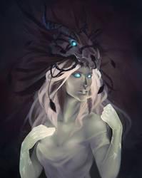 Gorak Tul's Drust Queen (Commission) by Kytru