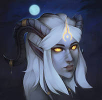 Portrait (Commission) by Kytru