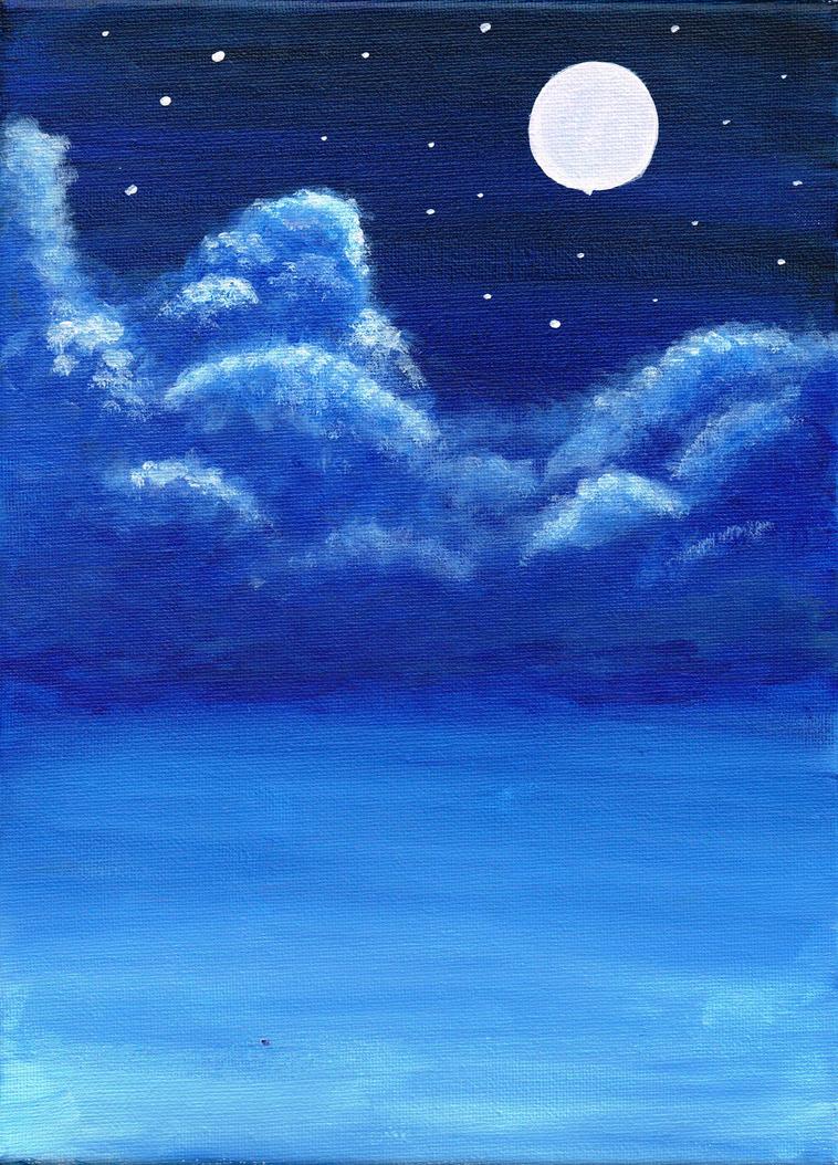 Cloudy night by missy0taznim