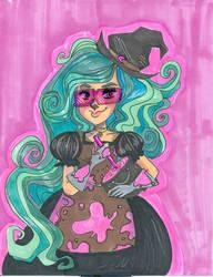 DnD Character- Lucretzia by CrayolaSquirrel