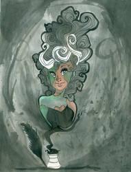 Lady Frankenstein by CrayolaSquirrel