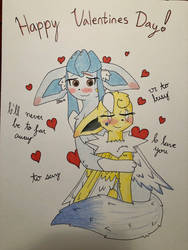 Happy Valentines Day!!! (Gift) by Glacie-the-Glaceon
