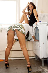 looking for dirty clothes by Miguelios