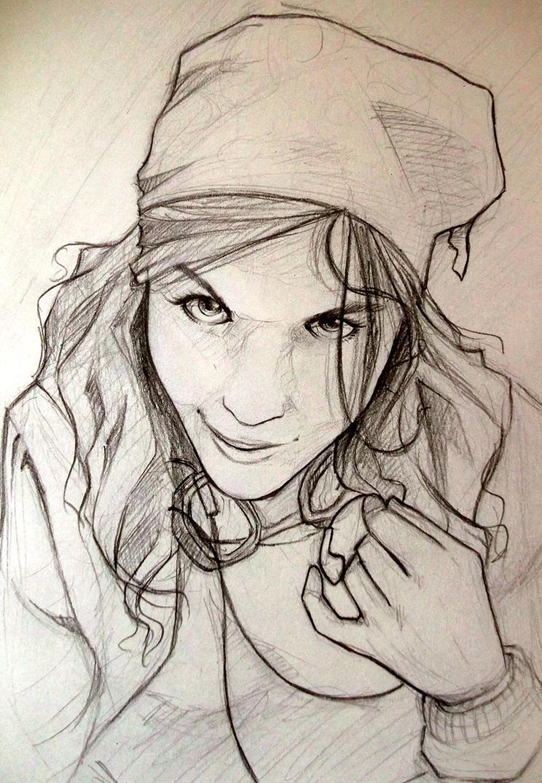 Portrait 04 by Eyrann