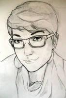 Portrait 05 by Eyrann