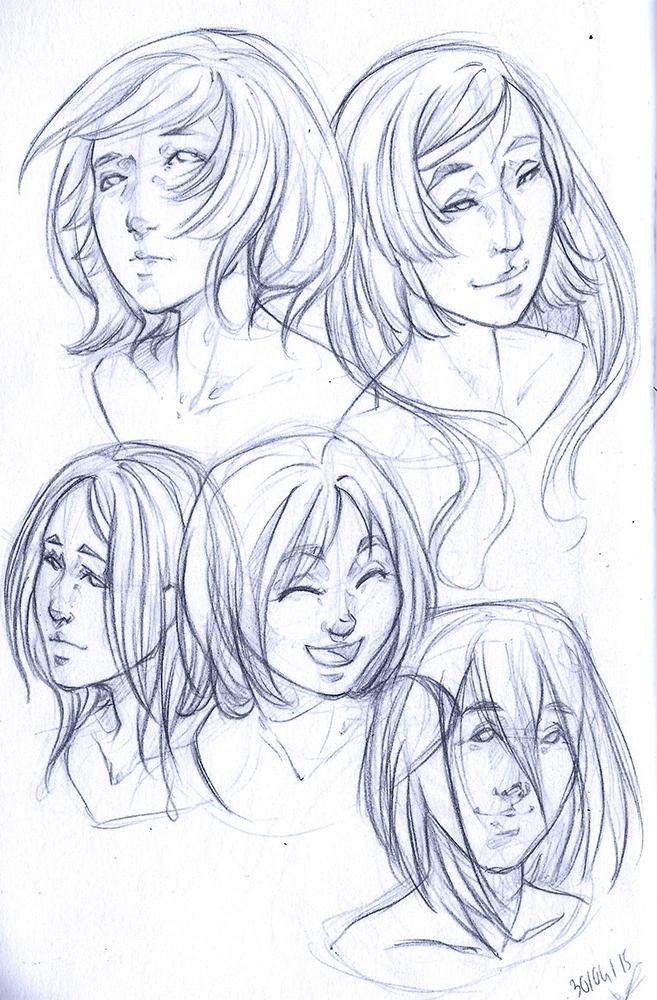 Faces by Eyrann