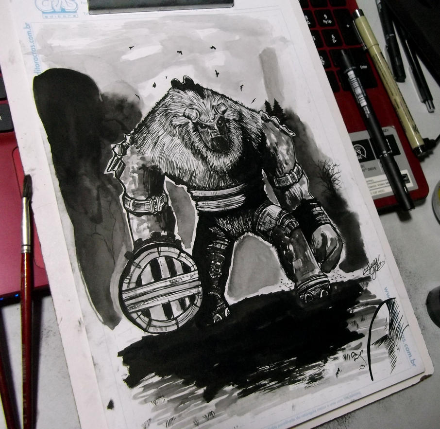 Shadow of the colossus - Valus (FanArt) by FredGuerazzi on ...