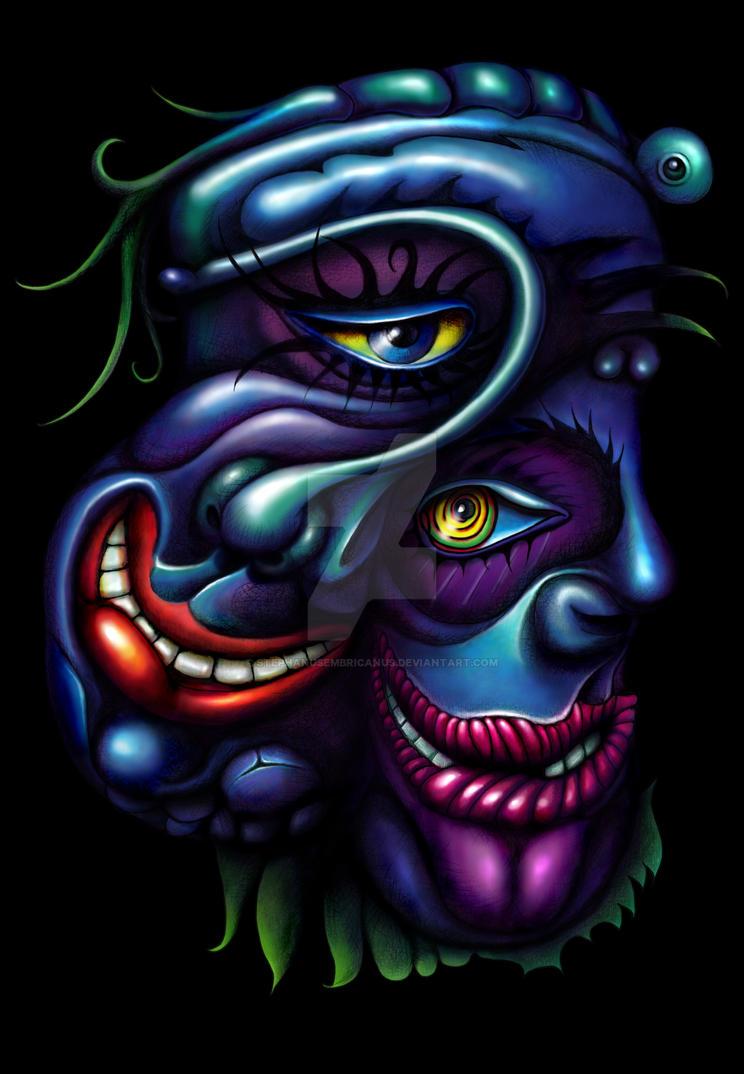 ihead 5, twinface blue by StephanusEmbricanus