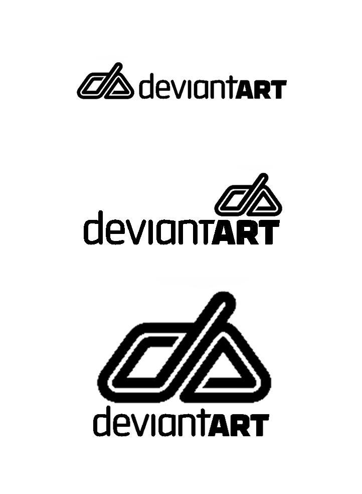 dA Logo relaunch by StephanusEmbricanus