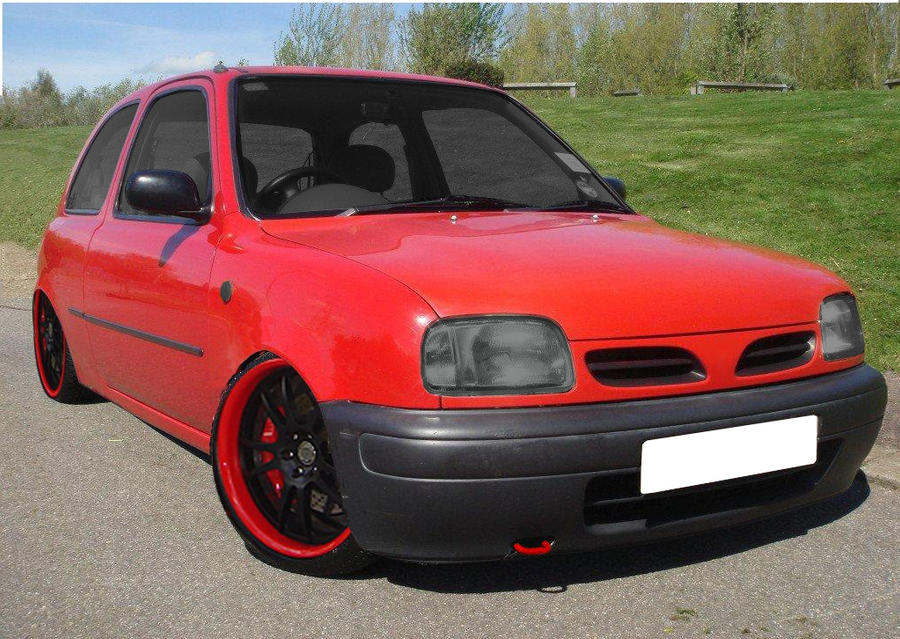 Modified Nissan Micra