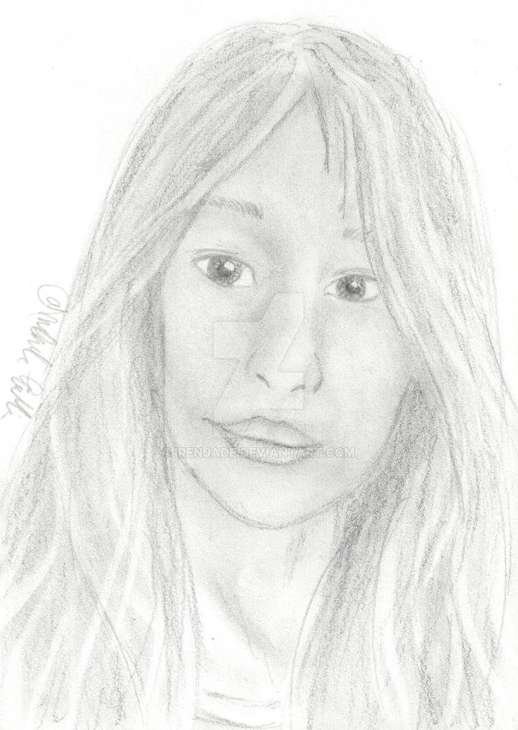 Beautiful girl by Irenjade