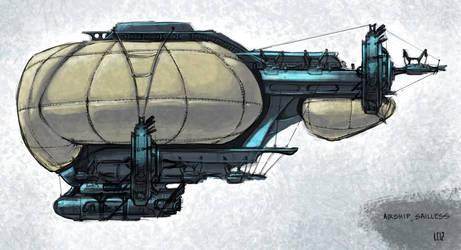 Airship by Chromiumg