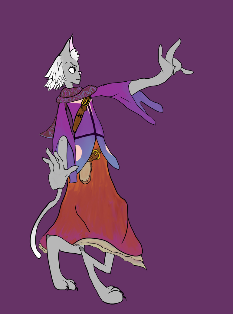 Sorcerer Tyra by Dalmonite