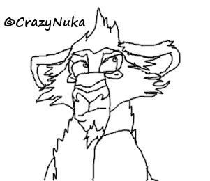 Annoyed Nuka by Nukarulesthehouse1