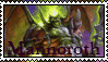 Mannoroth the Destructor Stamp by Nukarulesthehouse1