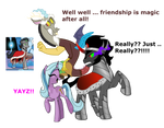 *Spoilers* Siege Of The Crystal Empire Ending