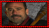 Negan (AMC) Stamp by Nukarulesthehouse1