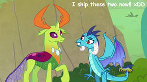 *Spoilers* Thorax x Ember Screencap