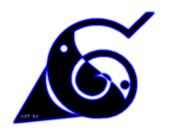 Yin Yang Village Leaf Symbol By Natpal On Deviantart