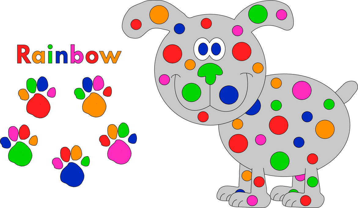 rainbow blue u0027s clues my blue u0027s clues dog oc by blueelephant7 on