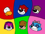 PB and J and friends