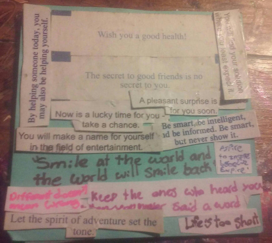 Quotes On Sticky Notes: FFoxFeet (Abandoned Account)