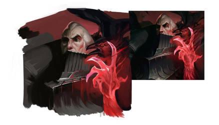 New Swain (League of Legends Fanart) by IroPagis