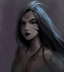 Kai'Sa fanart #2 by IroPagis