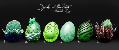 Spirits of the Forest [Hatchable] [Closed] by IroPagis