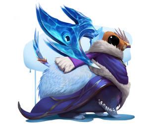 Magic Frozen Creature. Fluff #16 [Adopt][Open] by IroPagis