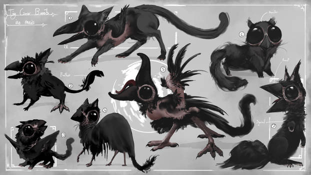 [CLOSED] Small Crow Beasts
