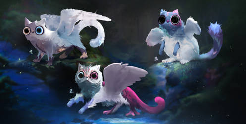 [CLOSED] Spirit Forest Meowls