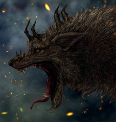 Fenrir Concept 3 by Hallowing