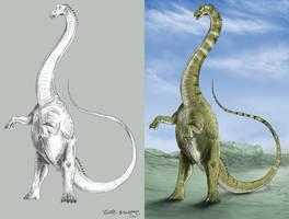 Collab: ''Seismosaurus'' by tuomaskoivurinne