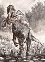 Spinosaurus aegyptiacus by tuomaskoivurinne