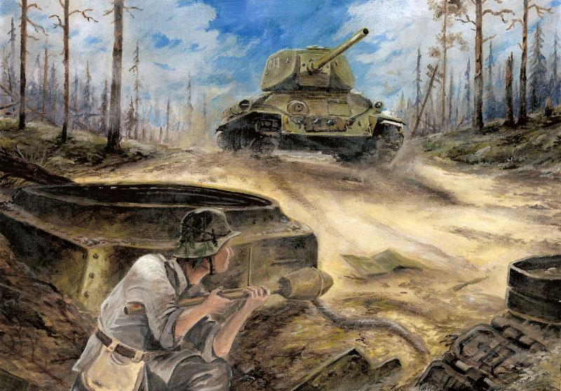 Tankintappaja - Tank killer by tuomaskoivurinne