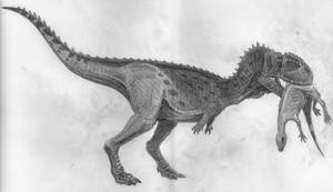 Kryptops and Valdosaurus by tuomaskoivurinne